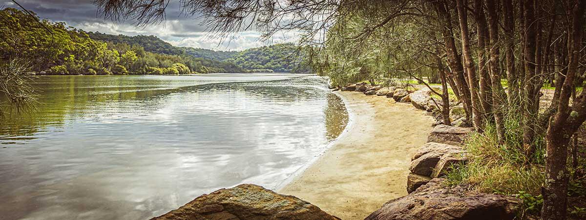 Sutherland Shire Family Photography & Wedding Portrait Location - Burnum Burnum Sanctuary Woronora